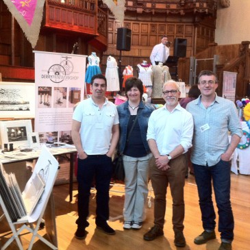 Derry Print Workshop Launch new Artworks at the Guildhall Craft fair